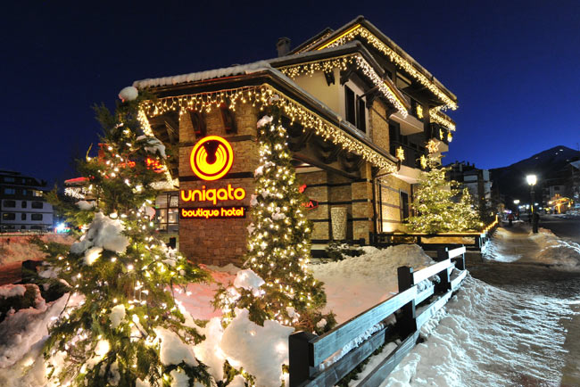 Boutique hotel in Bansko Bulgaria